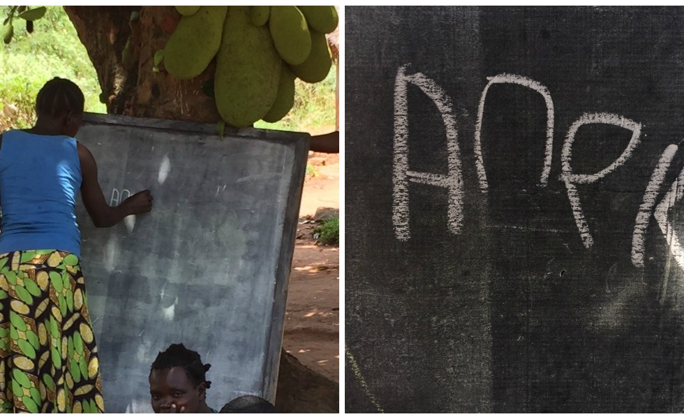 Women are empowered when they learn to read and write as a part of our literacy efforts in Gulu.