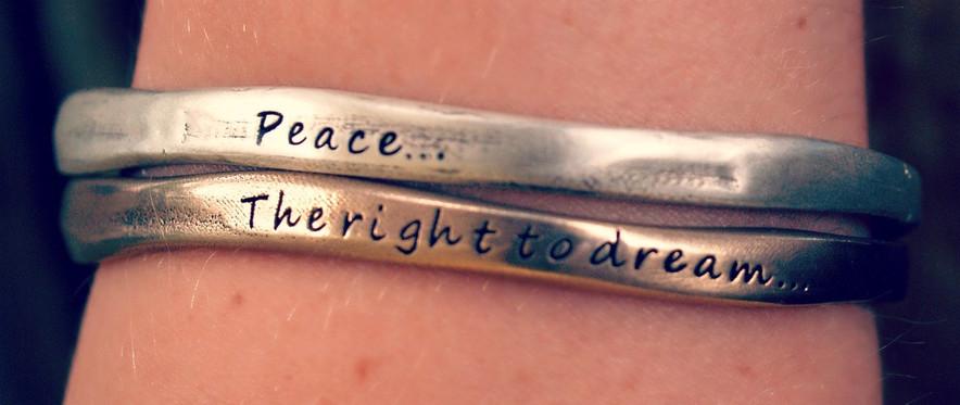Bolder Bracelets donates a percentage of sales to WGEF!